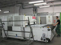 Used Schoen & Sandt 5050-250/160-240 large format punching machine