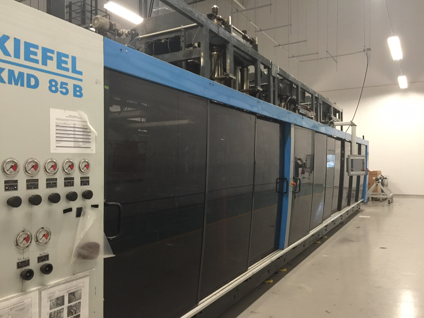 Used Kiefel Kmd85b Thermoforming Machine Exapro