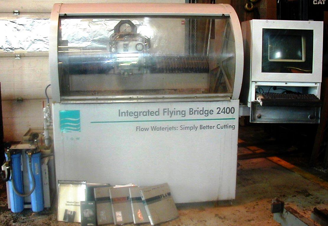 Used Flow Bengal Waterjet Cutting Machine Exapro