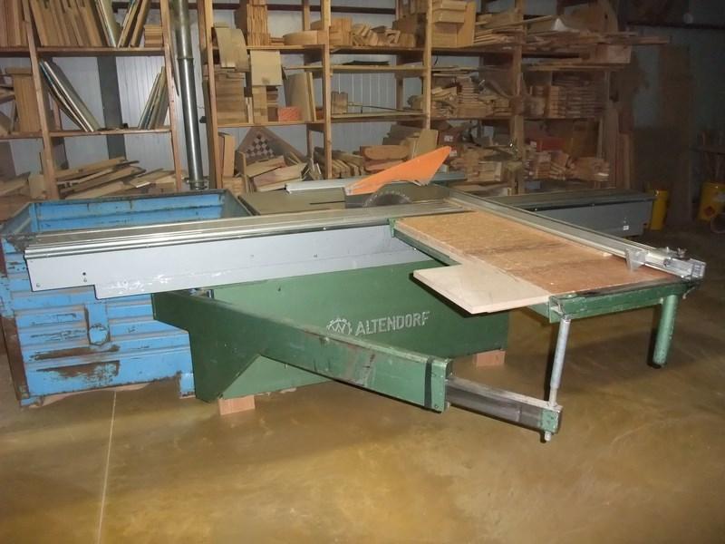 Sierra de madera altendorf fixed blade maquinas de segunda - Sierra de mano para madera ...