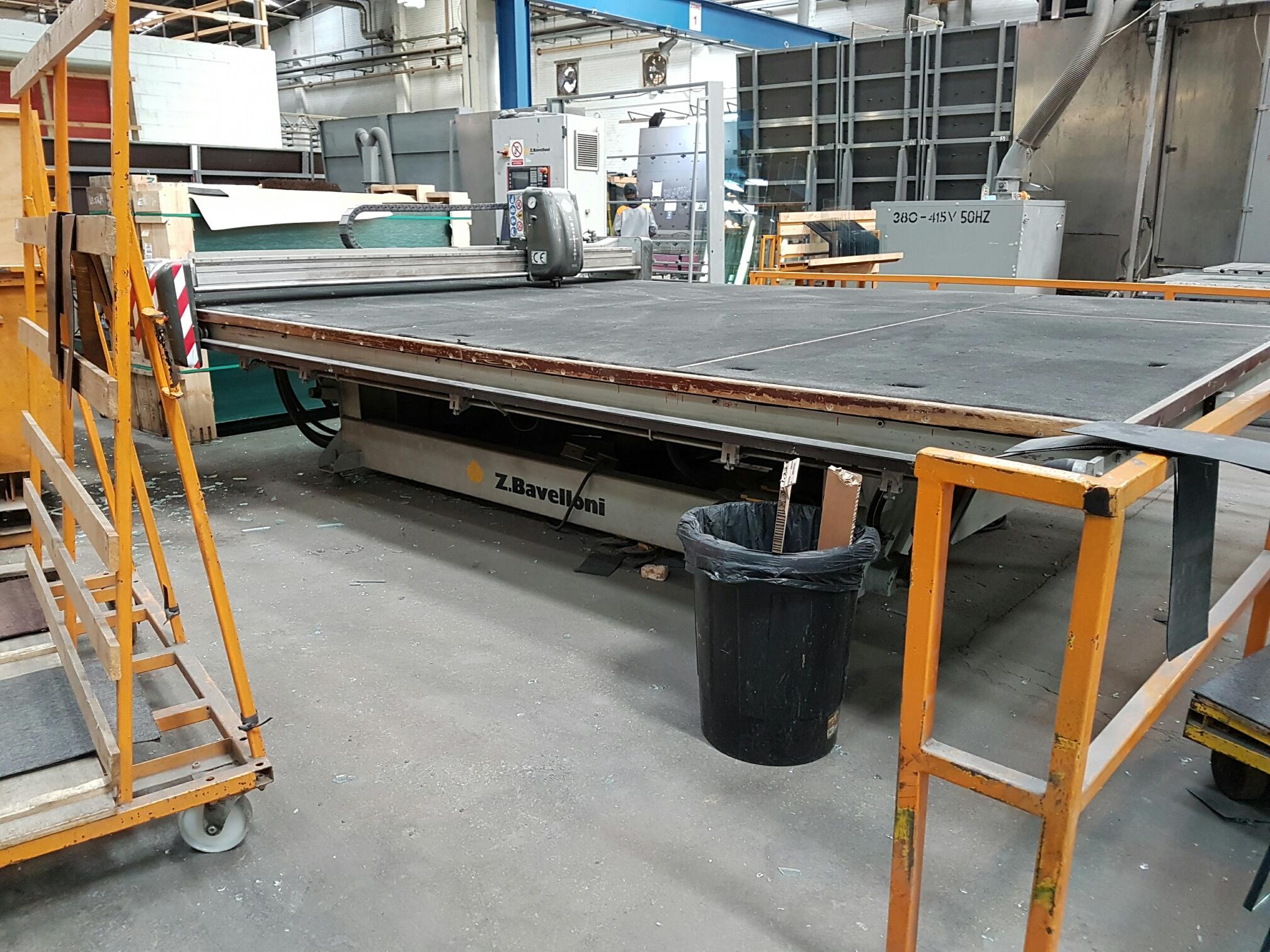 Used Bavelloni MTS 42 Glass cutting machine - Exapro