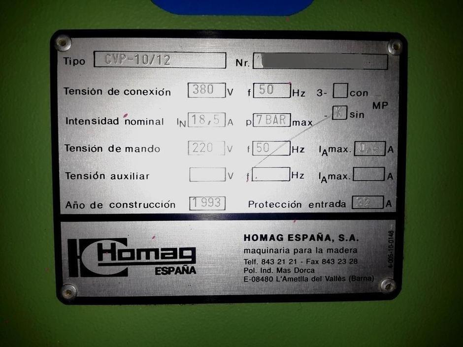 scie  u00e0 panneaux homag cv10  12 machines d u0026 39 occasion