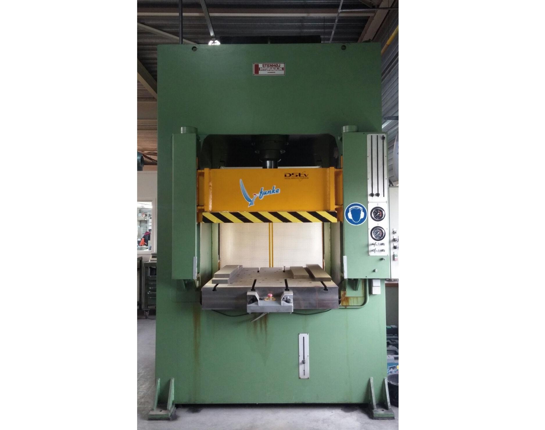 Stenhoj 150 T LP 4 metal press - Exapro