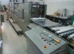 Didde Glaser DG860 Web continuous printing press