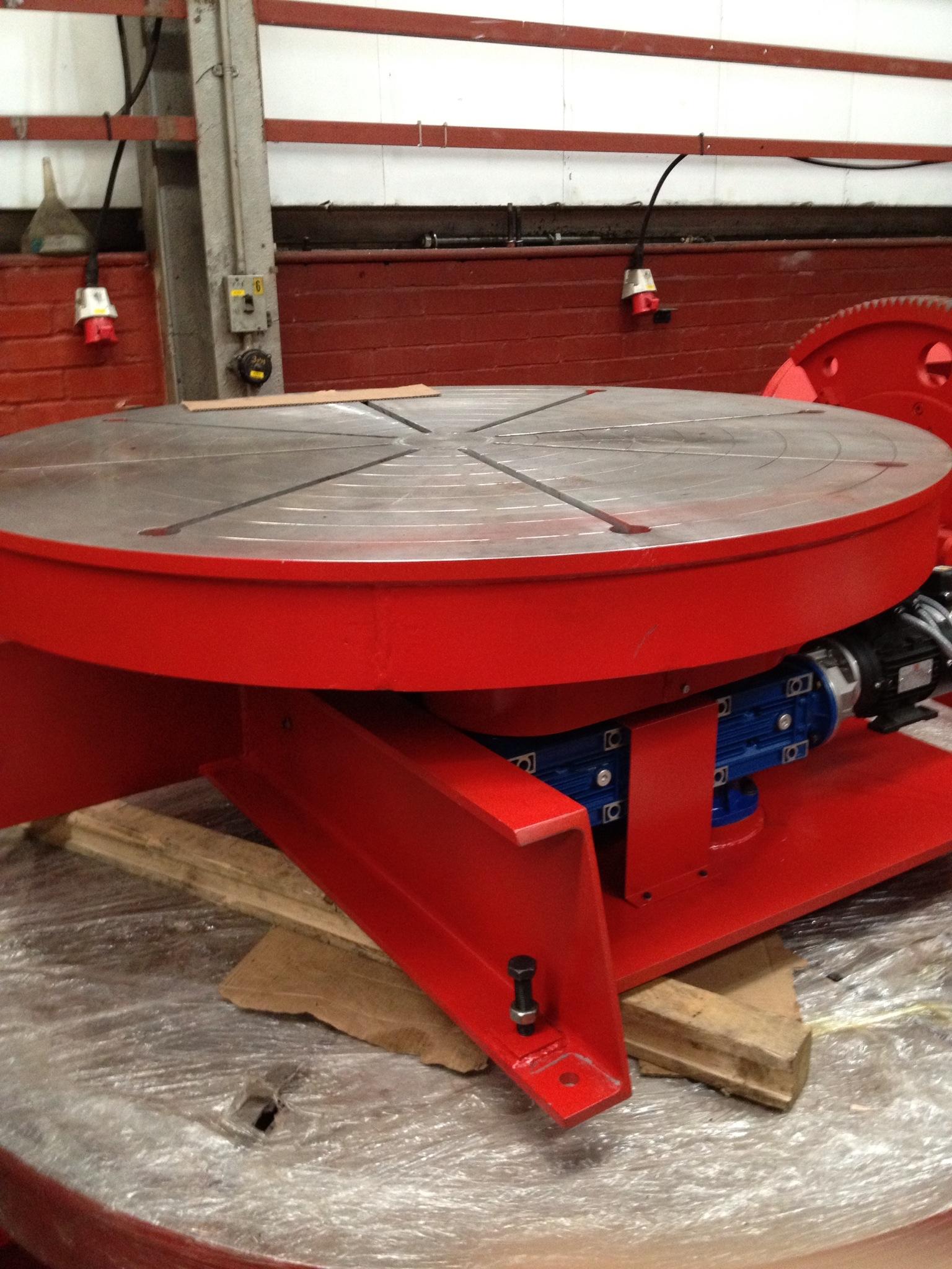 Used 5 Ton Welding Turntable Exapro