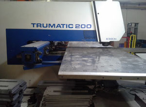 Trumpf TC 200R Punching machine with CNC