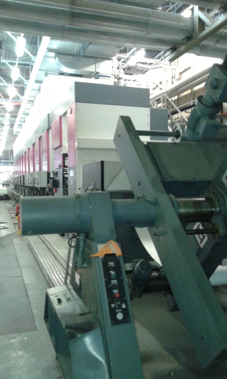 Color printing bobst - 1 7