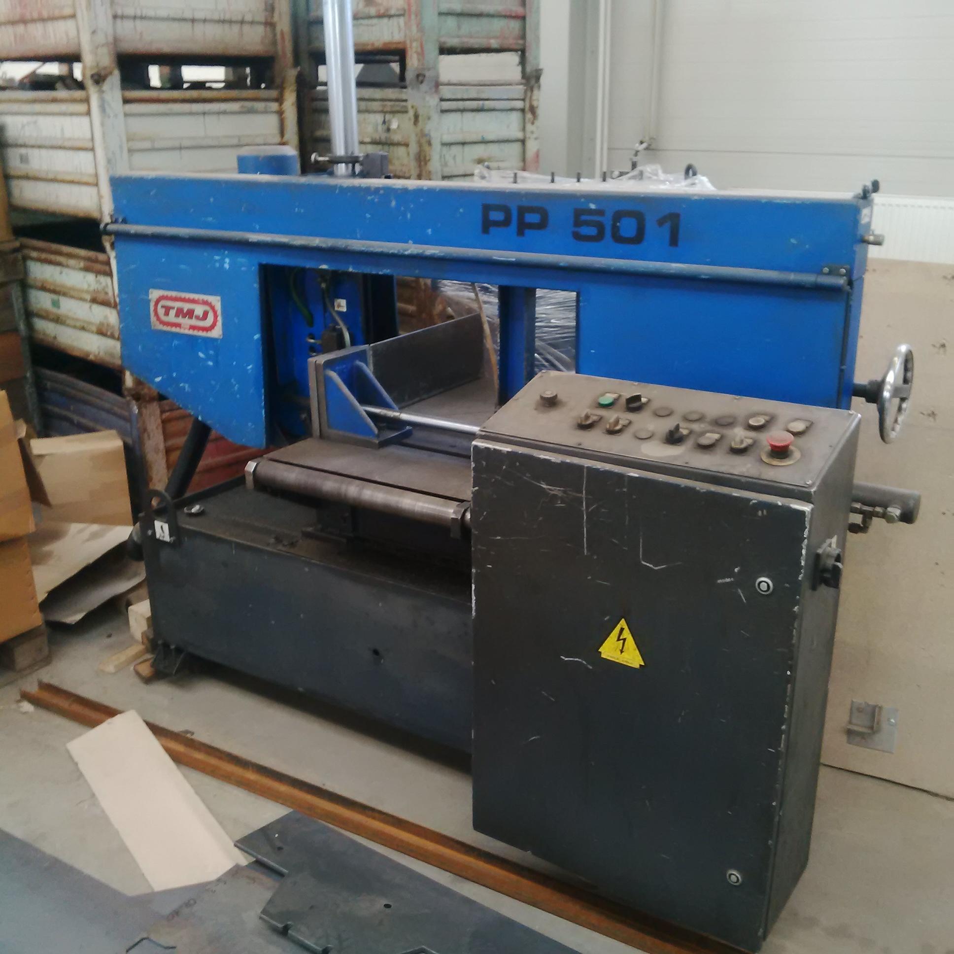 Sierra de cinta para metal tm jesenice pp501 maquinas de - Sierra cinta metal ...