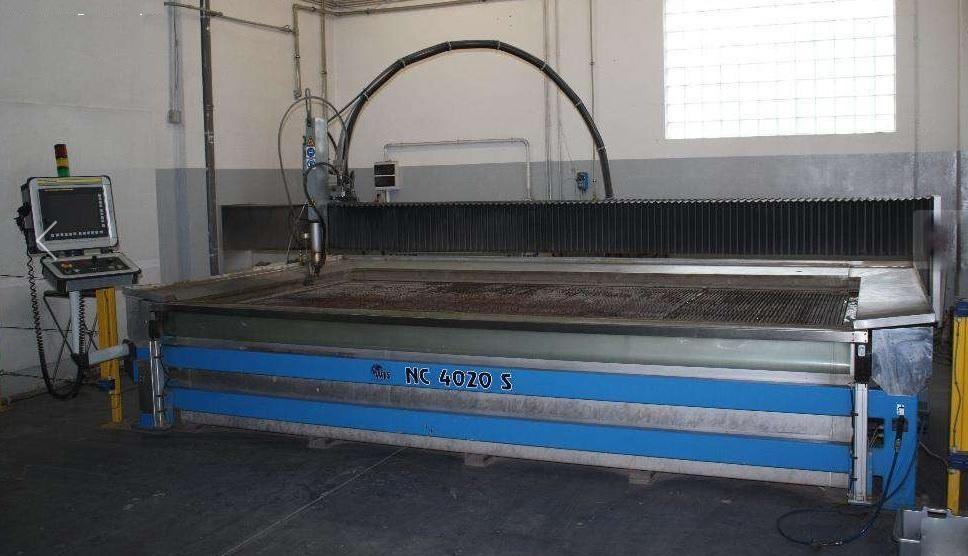 Maquina de corte con agua alta presion wjs nc 4020 s - Maquina de agua a presion ...