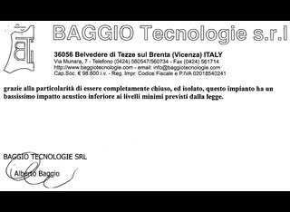 Baggio Tecnologie FAST DRY 220 for LEATHER Dryer P60526096