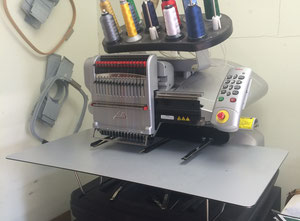 Used Embroidery Equipment Large Orders Embroidery