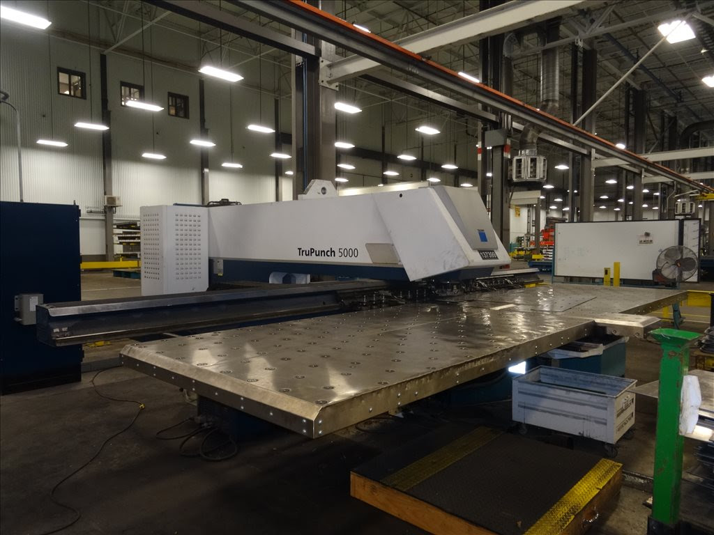 trumpf trupunch punching machine nibbling with