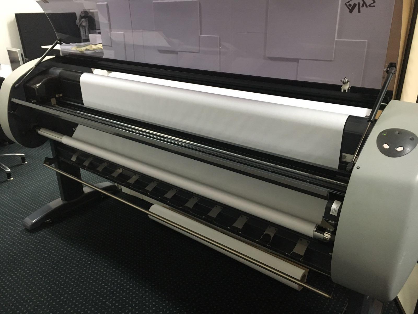 Plotter Lectra Alys 60 Inkjet Large Format For Two Paper