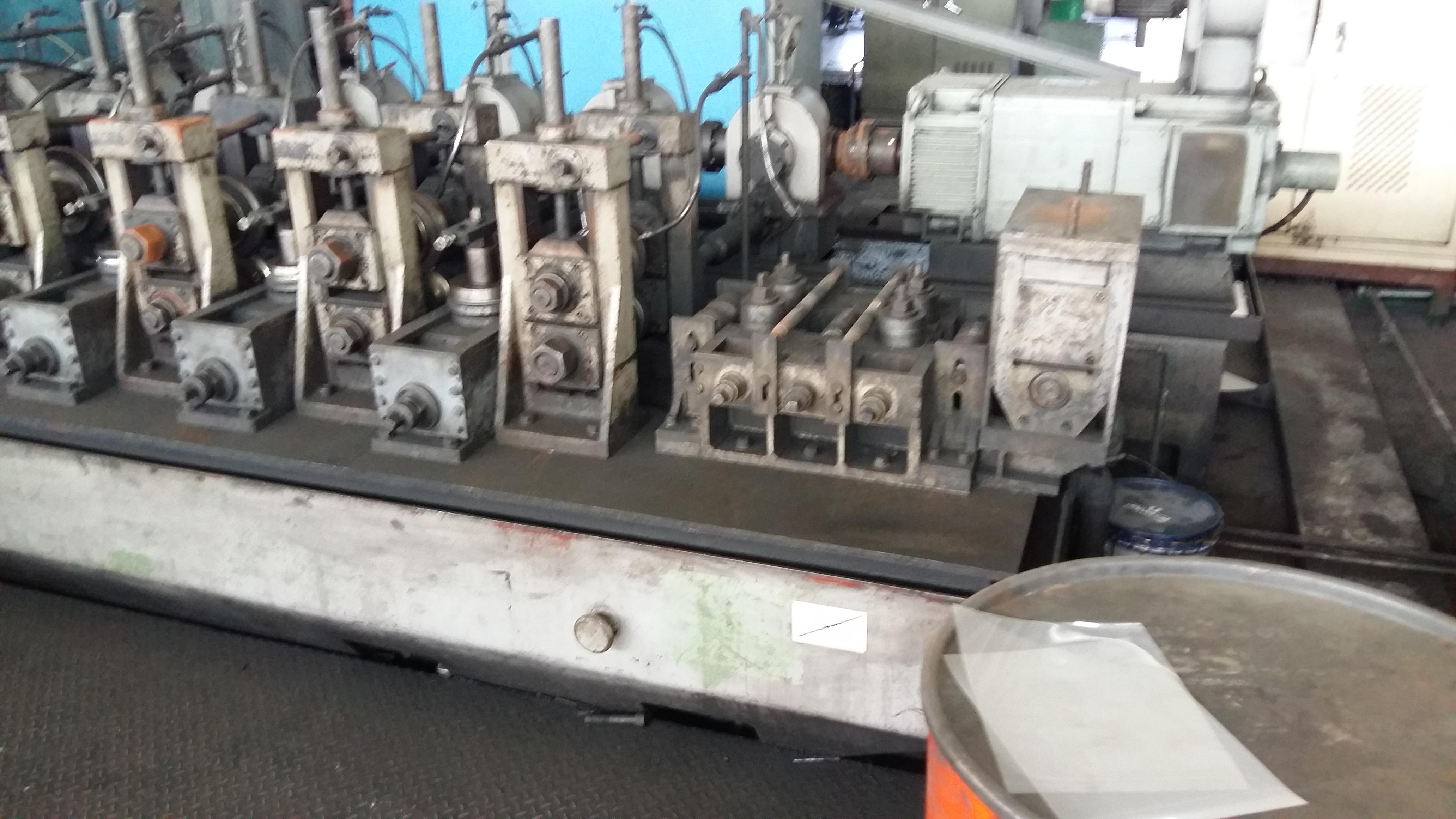 Curvadora de tubo woojin korea 3 5 inch maquinas de for Curvadora de tubos segunda mano
