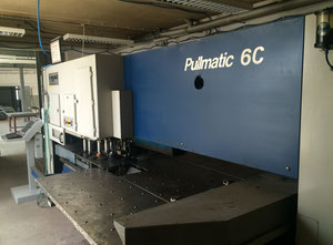 Used Pullmax Pullmatic 6C Punching machine / nibbling machine with CNC