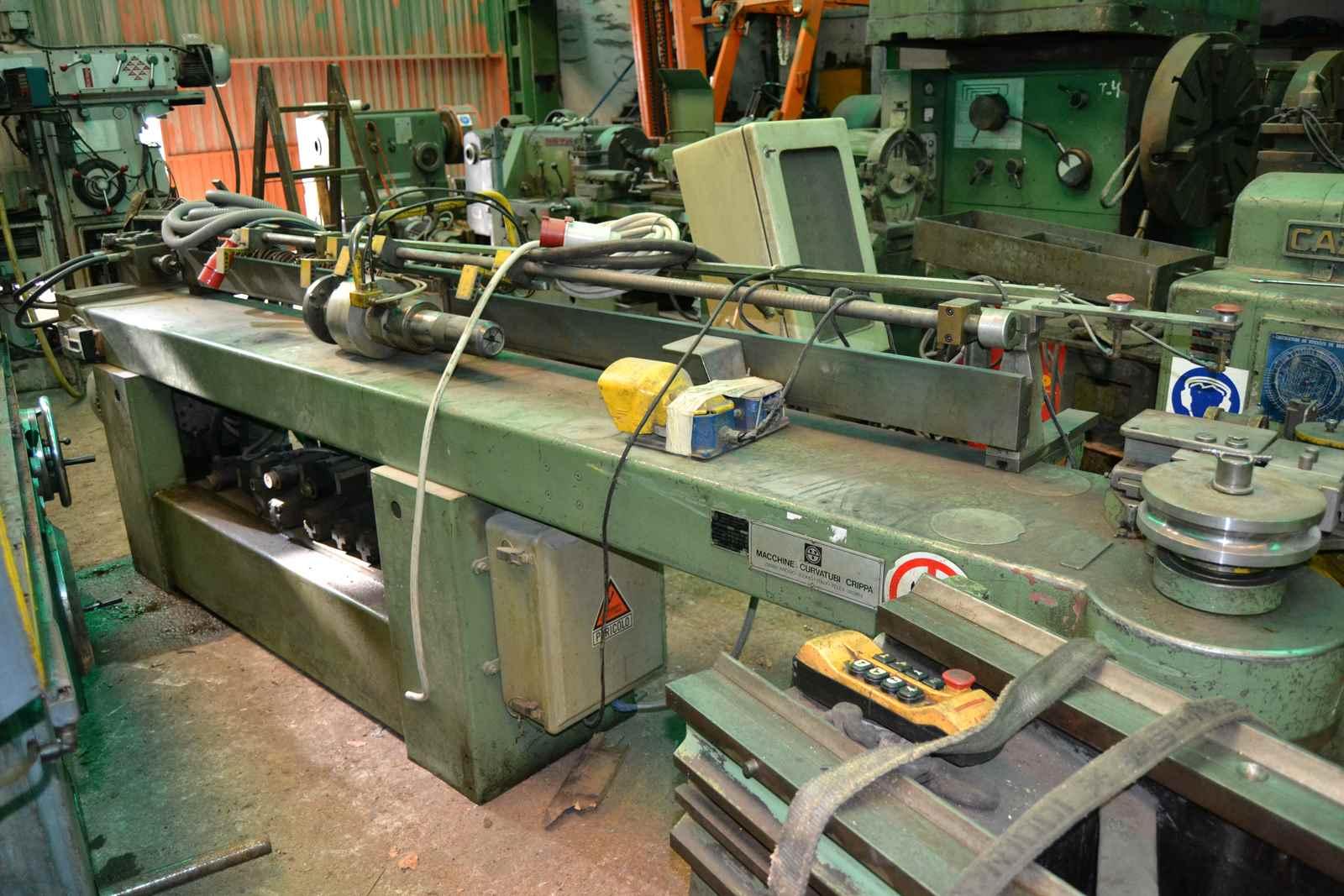 Curvadora de tubos crippa agostino mediolanum 1 maquinas for Curvadora de tubos segunda mano