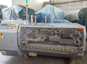 PRB PACKAGING SYSTEMS   mod.  NEW POCKET - MINISTRATUS - CASE PACKING AND PALLETIZING LINE