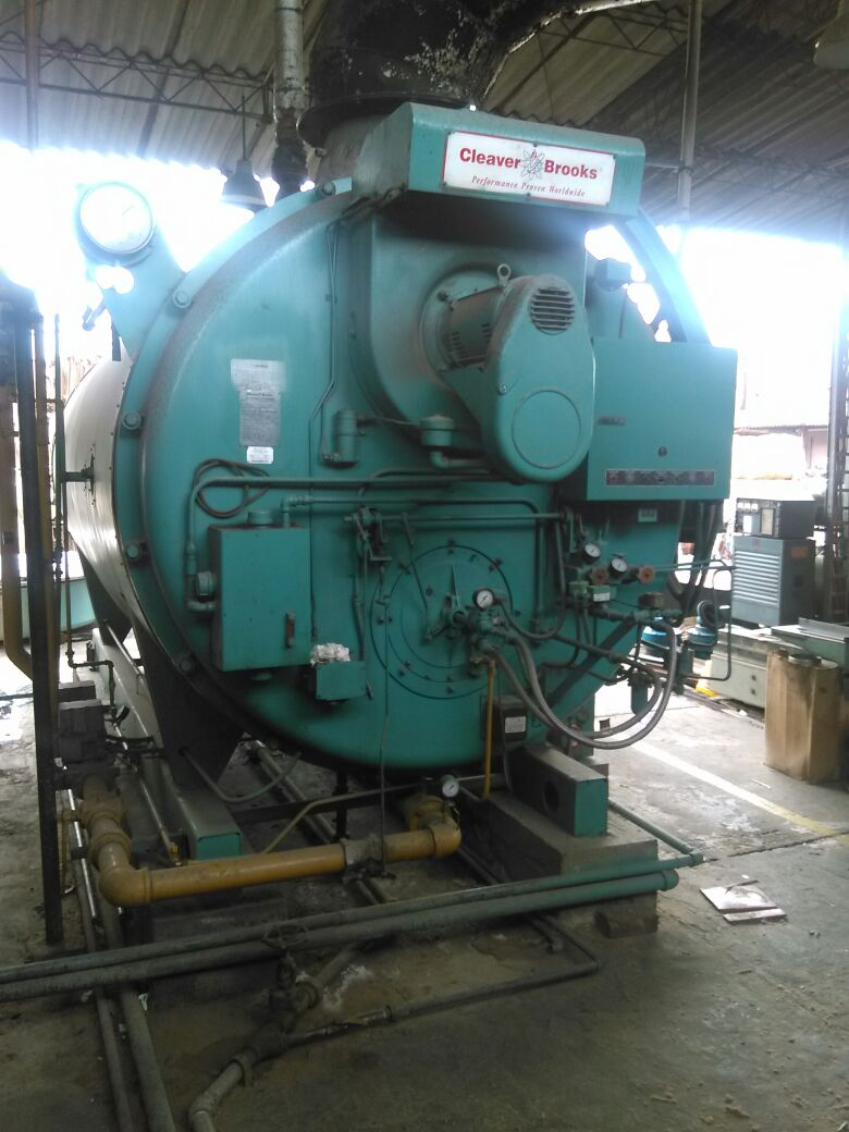 Used Cleaver Brooks 2002 Industrial boiler - Exapro