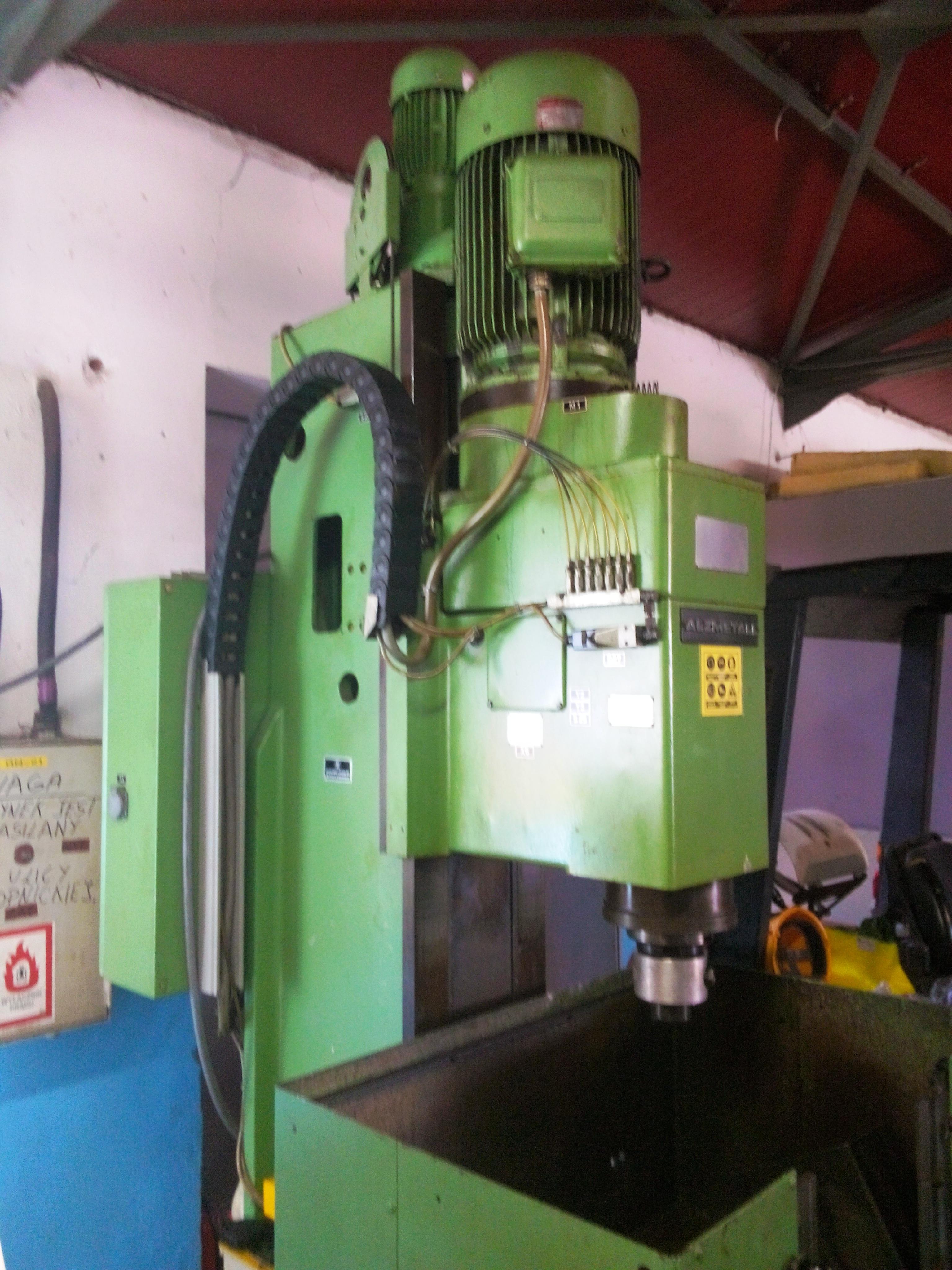 W Mega Wiertarka-frezarka kadłubowa Alzmetall Abomt 50 Maszyny używane DF15