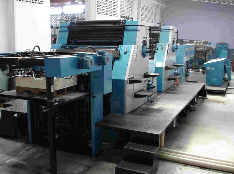 Mauina Roland Impresora 4colores Maquinas De Segunda Mano