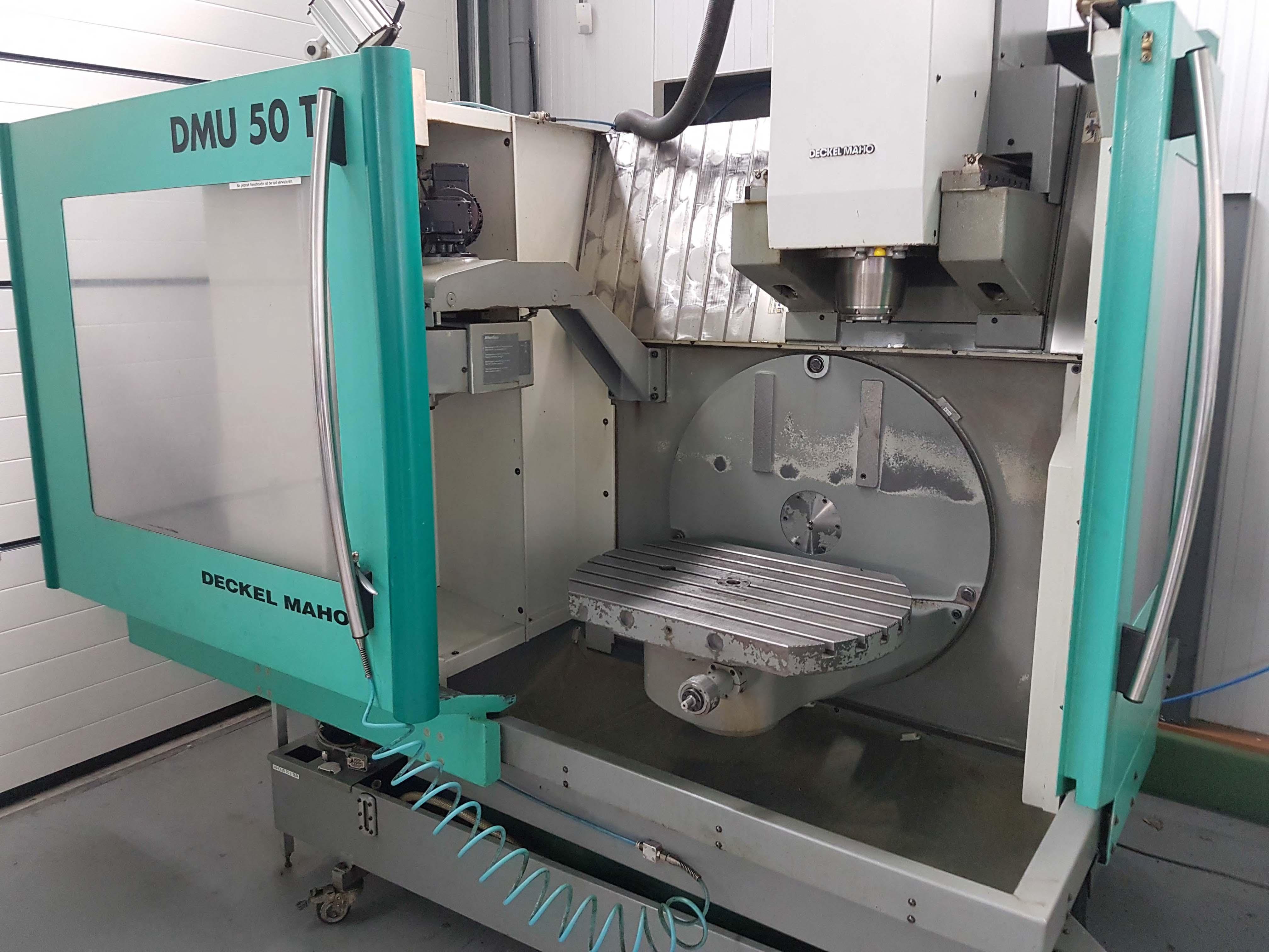 Deckel maho dmu 50 t cnc machining center exapro for Dmg deckel maho
