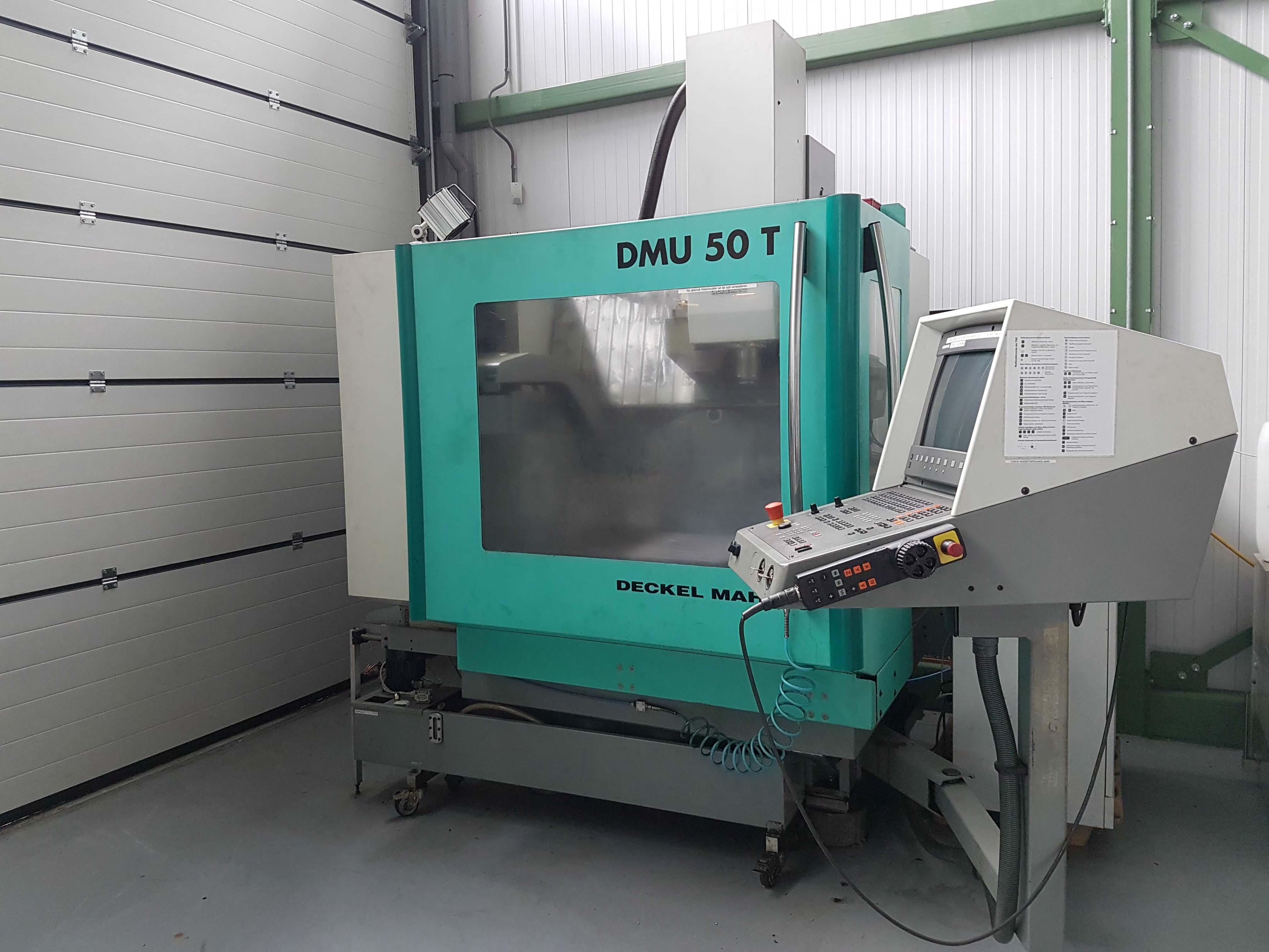 deckel maho dmu 50 t cnc machining center exapro