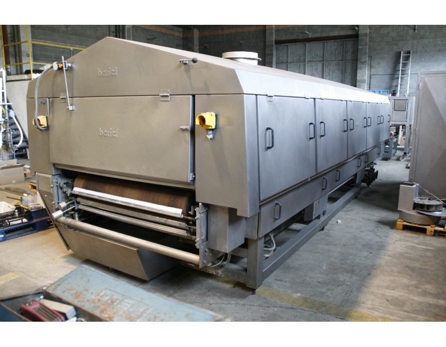 Tunnel de cuisson berief dubra 5 1000 machines d 39 occasion for Machine de cuisson