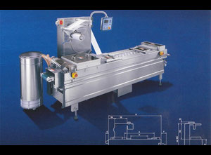 Multivac R-140 Thermoforming - Form, Fill and Seal Line