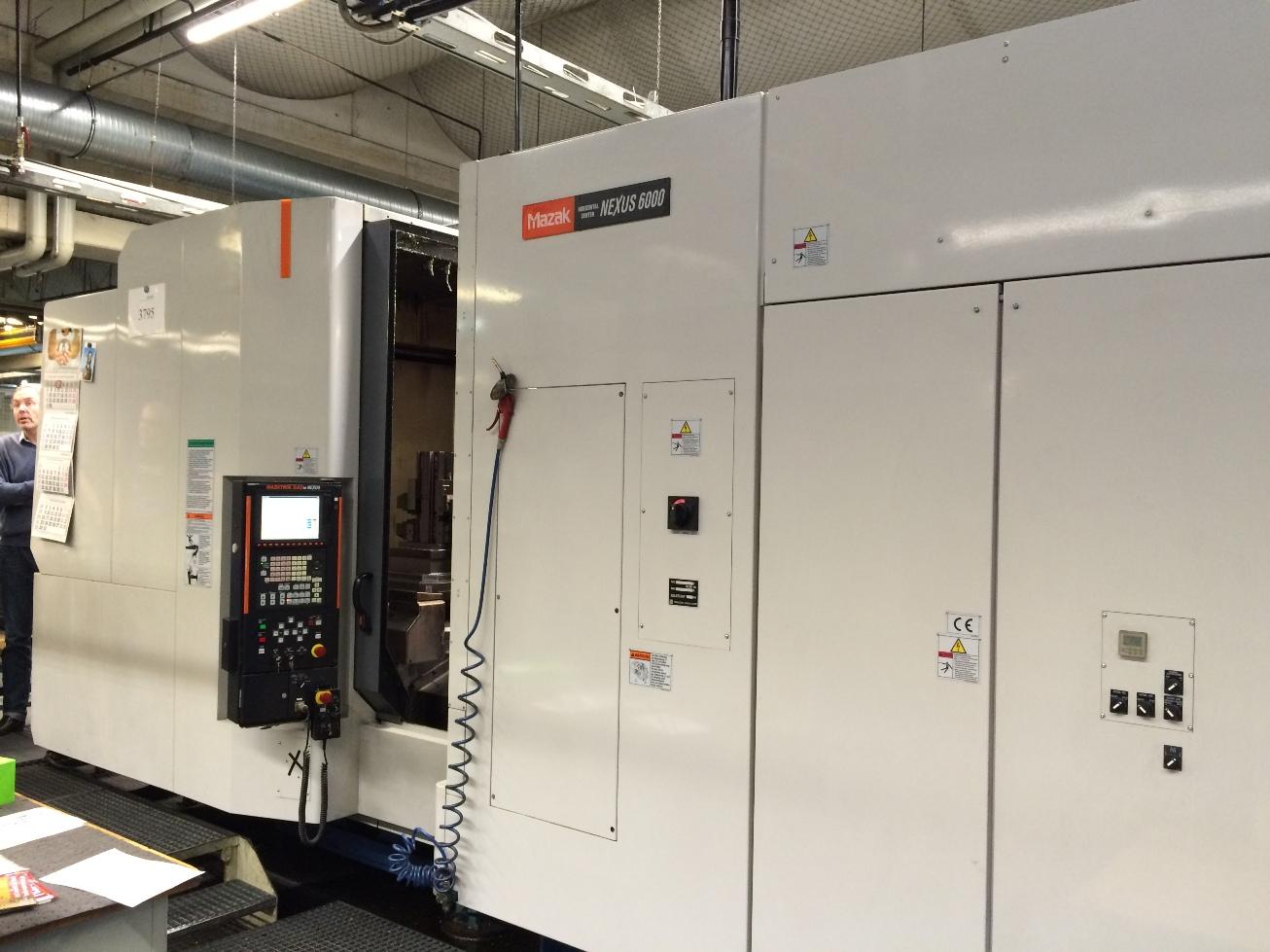 Mazak NEXUS 6000 Machining center - horizontal - Exapro