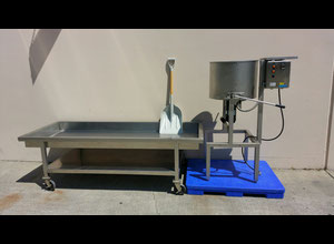 Cretors CMD100 CR Popcorn Carmelizer or Candy Coater with cooling/mixing table.