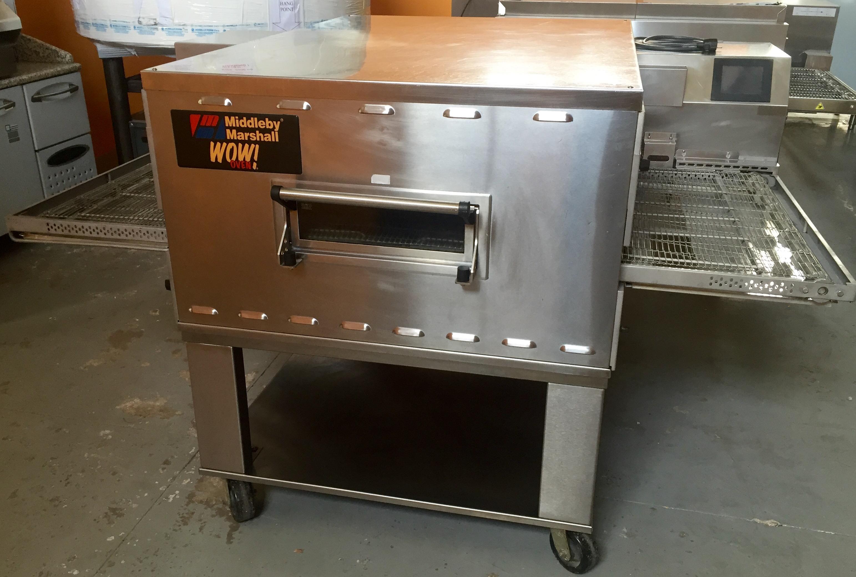 Horno de cinta middleby marshall ps640wow gas maquinas de for Horno pizza segunda mano