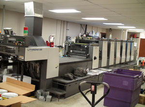 Used Komori 628 + CX Offset six colours