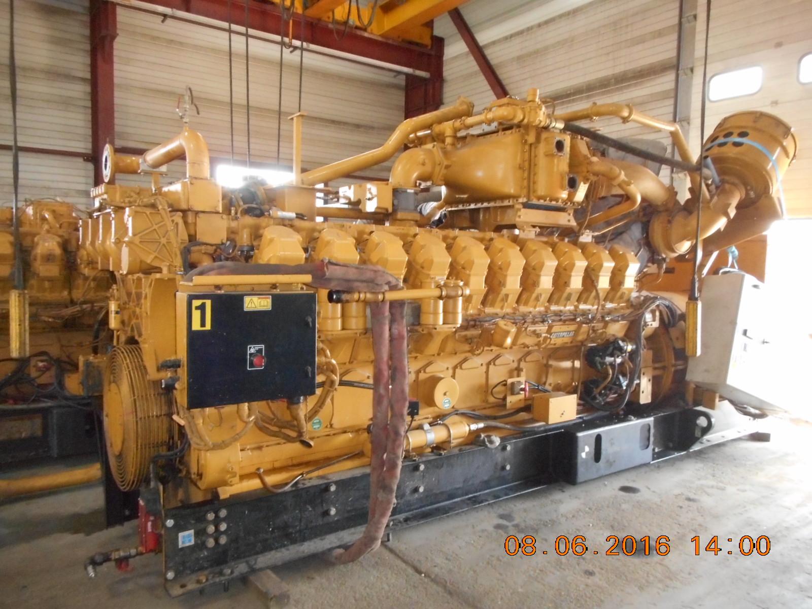 Caterpillar g3520b generator set exapro for Groupe electrogene 12 kva