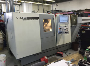 Used Gildemeister CTX 310 turning center