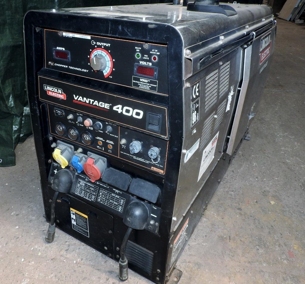 Lincoln Vantage 400 Welding Machine Exapro