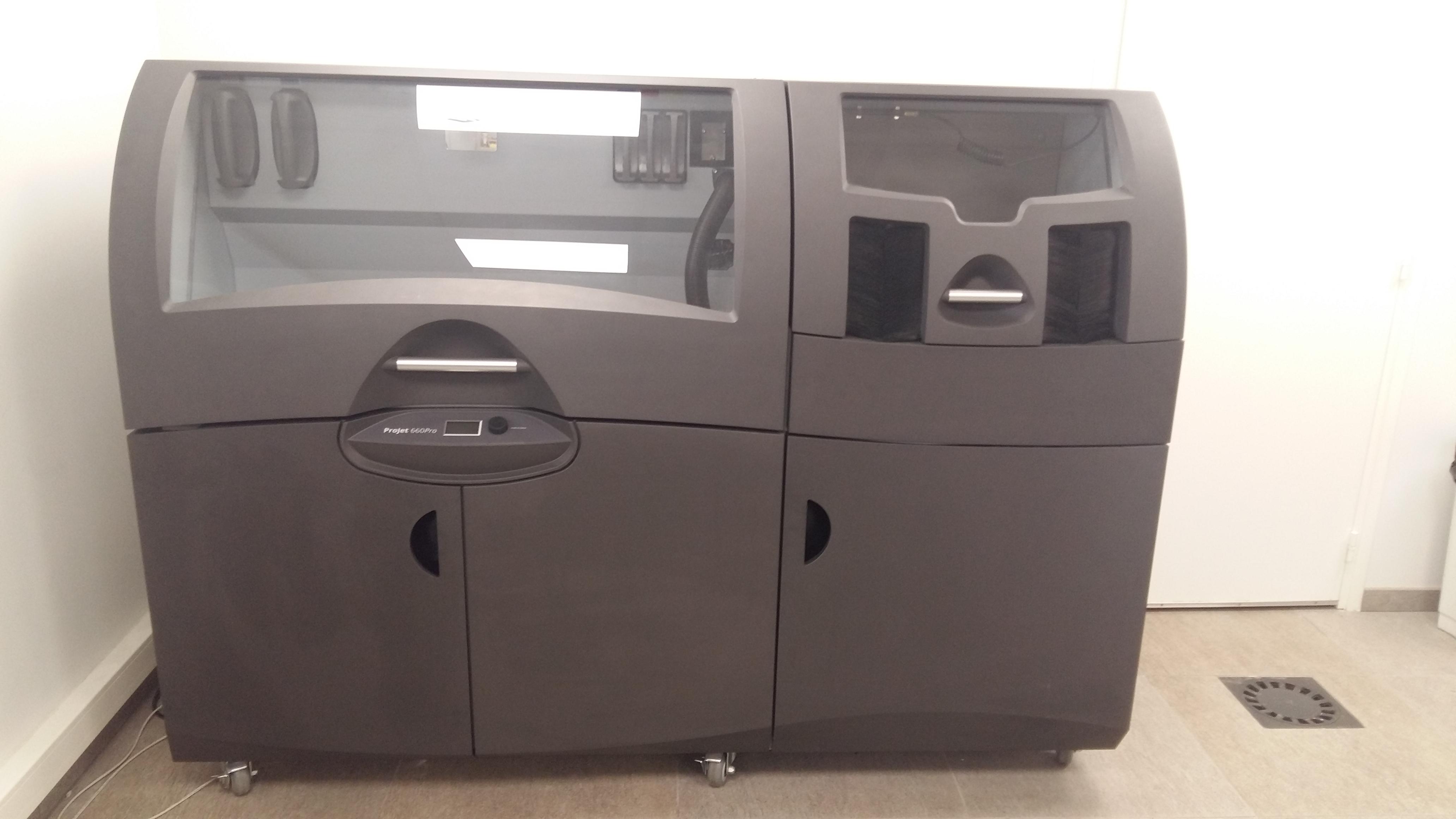 Projet 660 PRO 3D Printer - Exapro