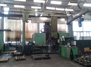 Sedin 16 CNC vertical turret lathe with cnc