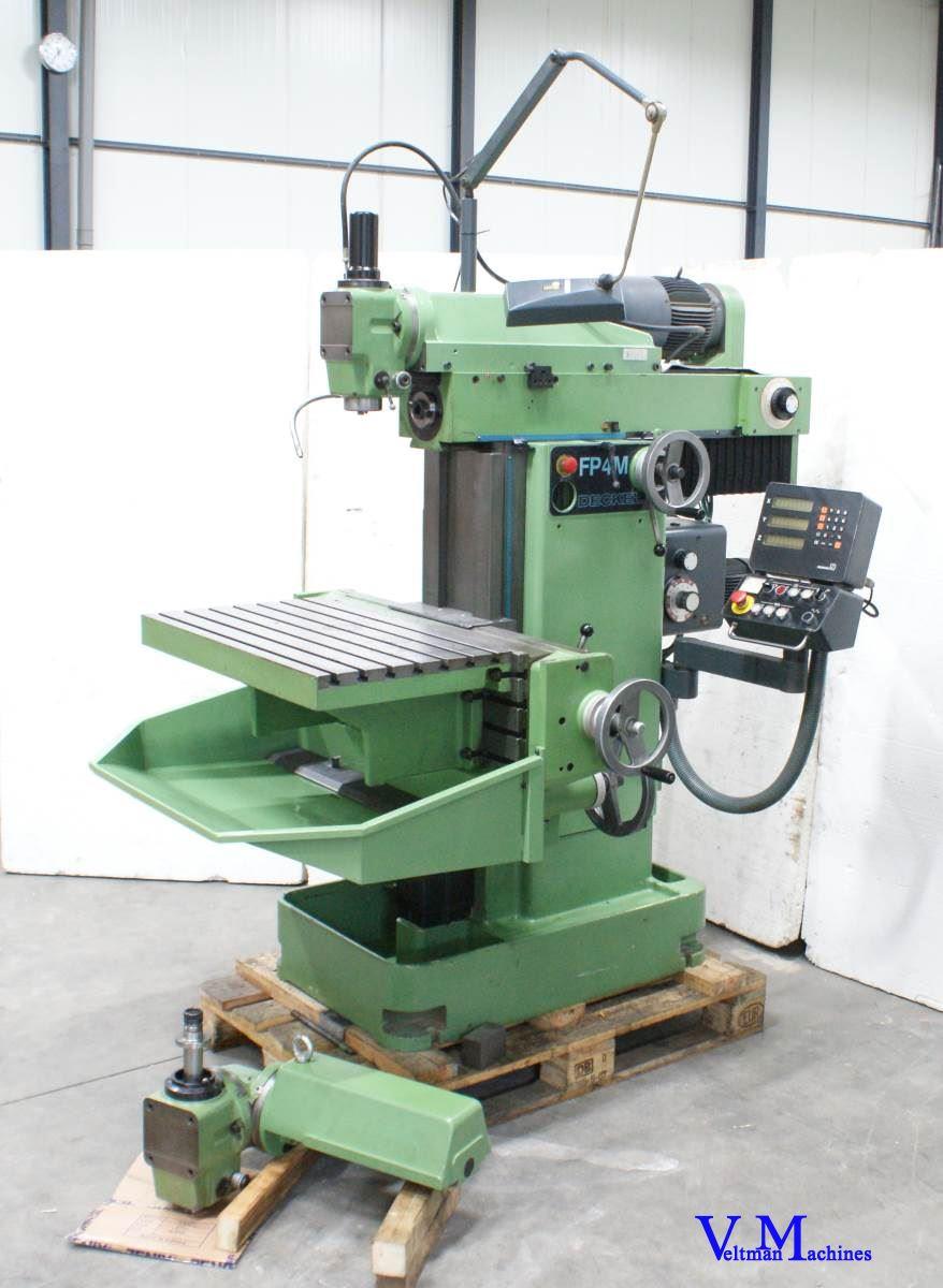 Deckel FP4M Fräsmaschine Universal Gebrauchte Maschinen - Exapro