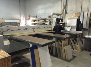 Holzma HPP 81 Beam Wood saw