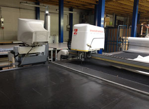 Used Investronica TOPAZ FIBRE OTTICHE Automated cutting machine