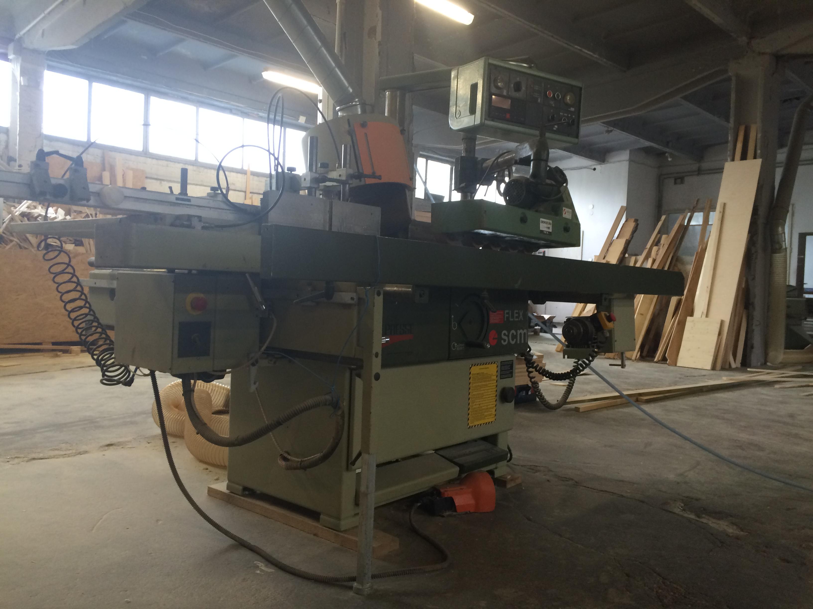 Fresadora de madera scm flex 1 maquinas de segunda mano - Fresadora de madera ...