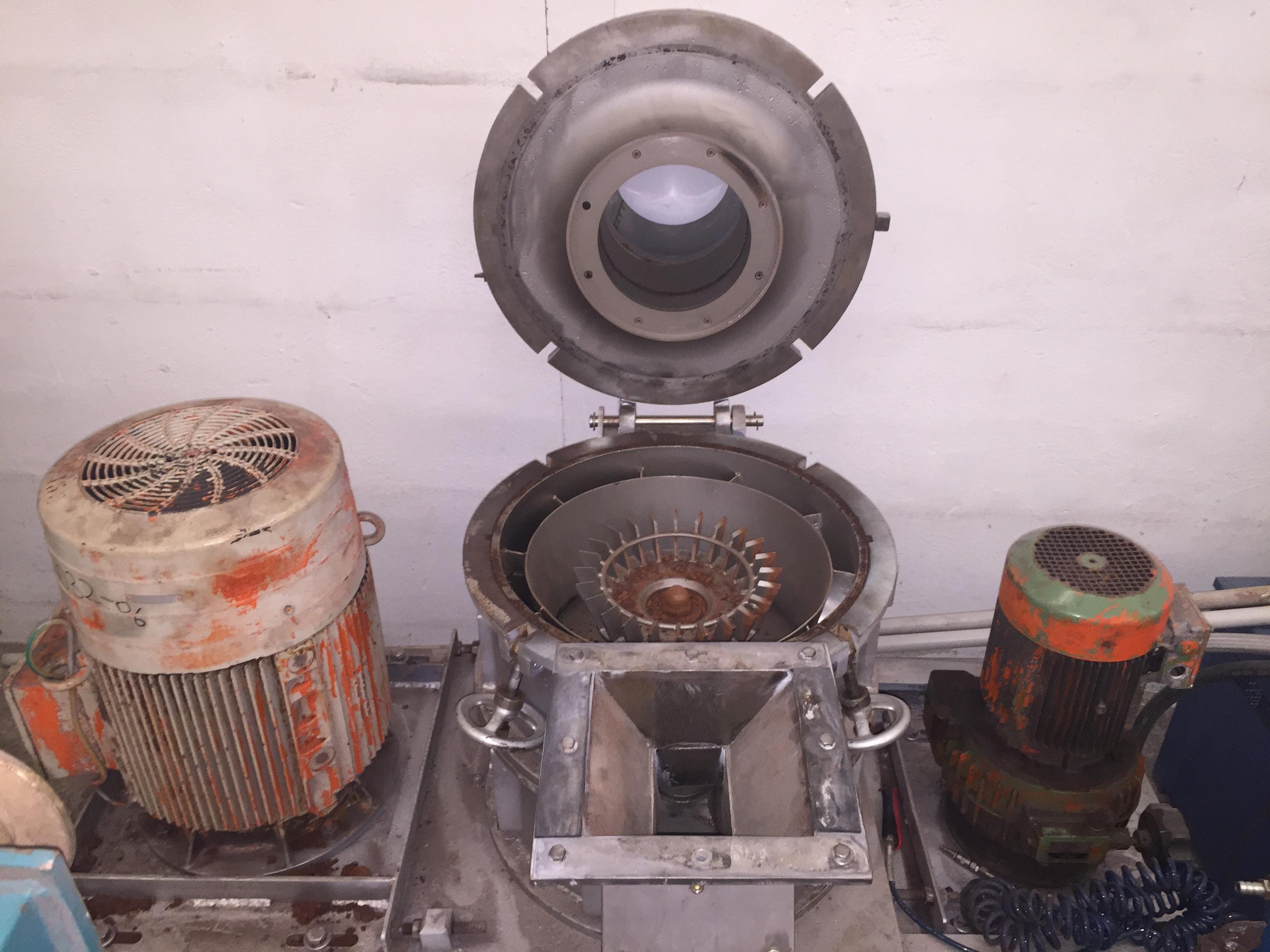 Hosokawa alpine micron proces acm 40 grinder exapro for Alpine cuisine meat grinder
