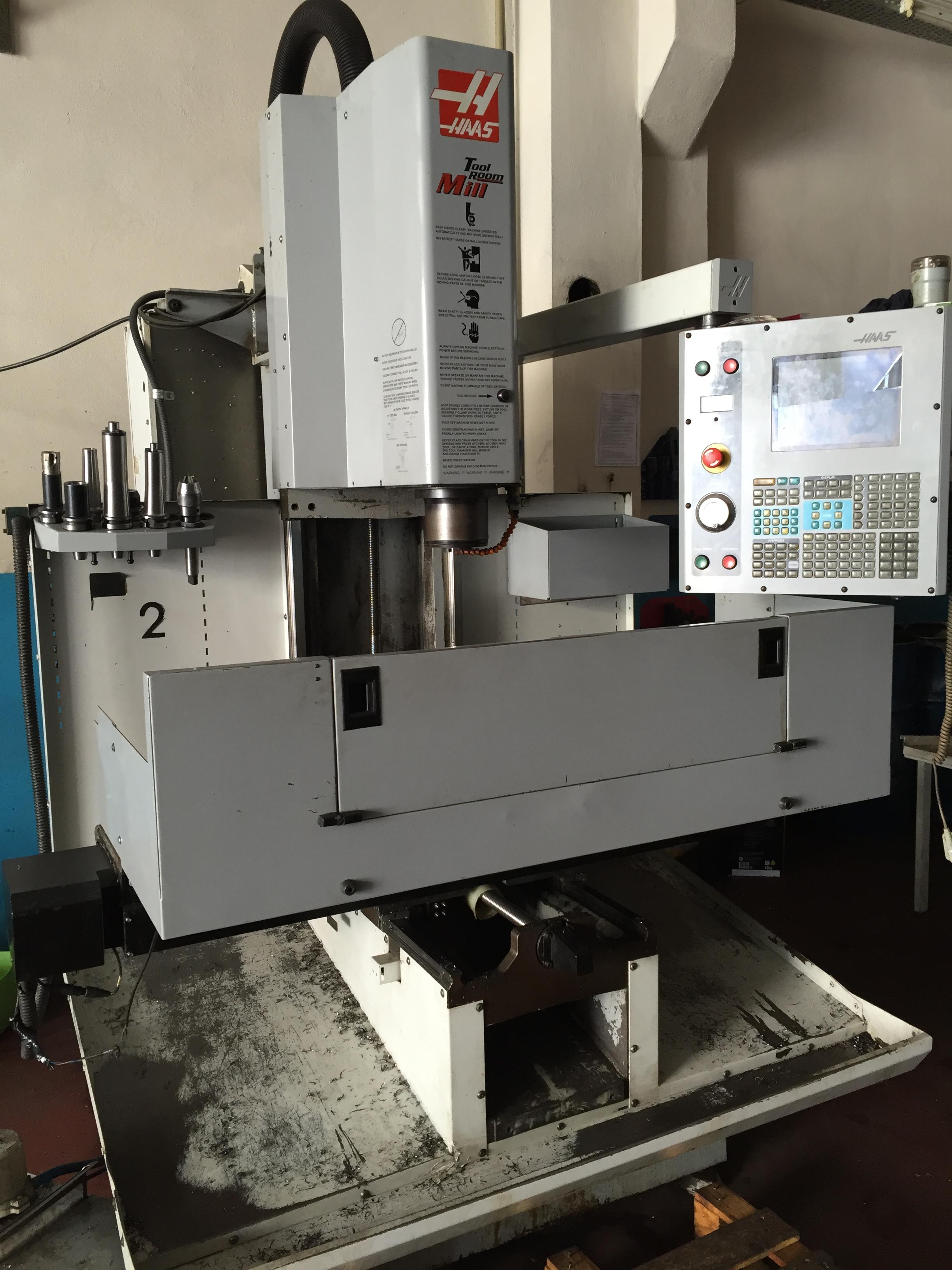 Haas Tm2 Cnc Cnc Vertical Milling Machine Exapro