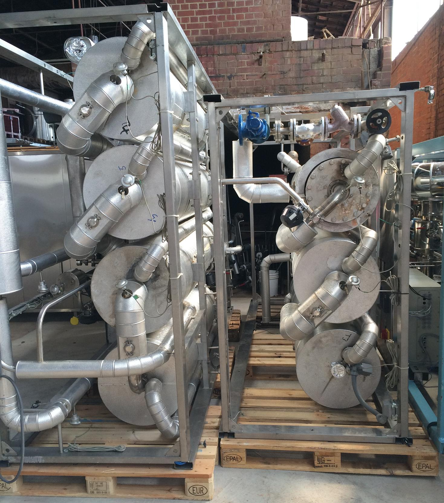 Water Distillation Plant for WFI Water Kemiterm Exapro