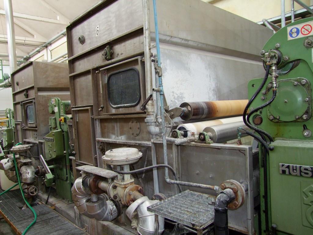 Machine laver vapeur repasser kuesters machines d - Machine a repasser automatique prix ...