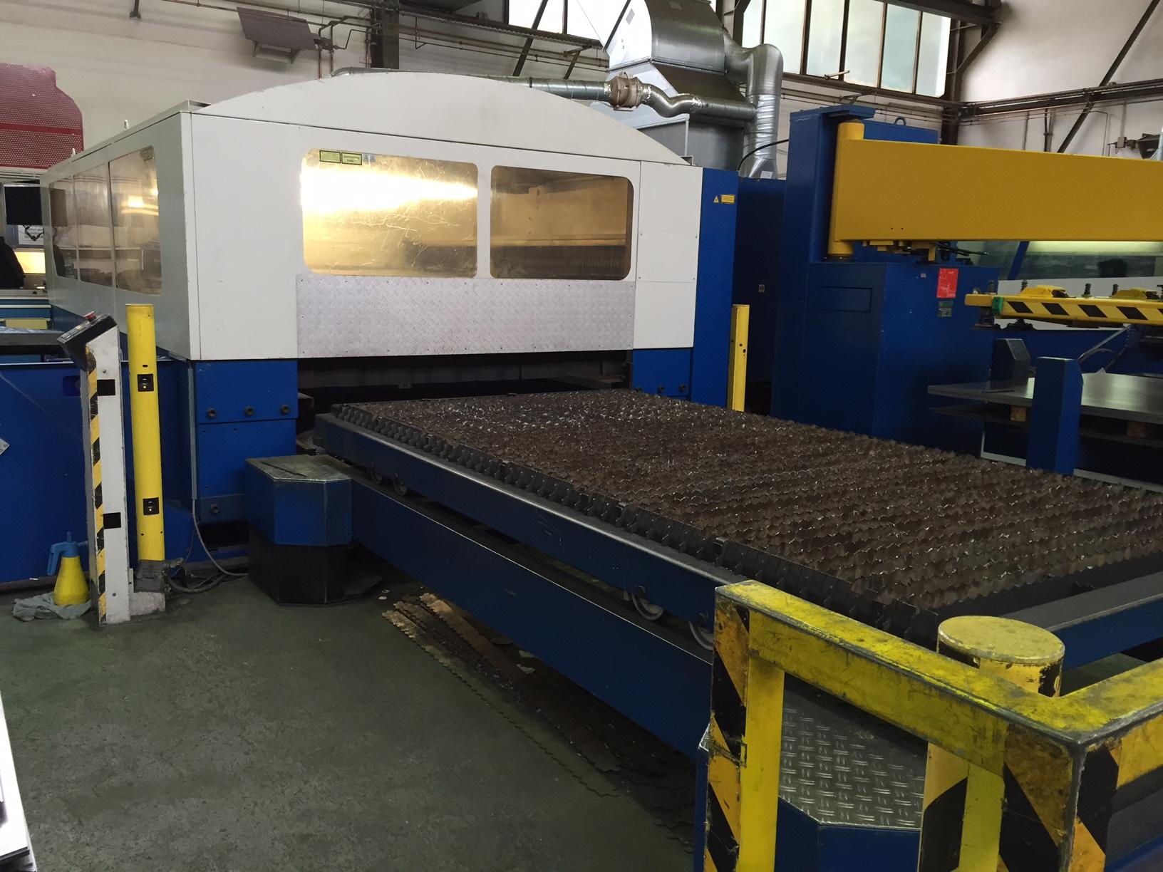 Trumpf Trumatic L 3030 Tlf 2600 Watt Laser Cutting Machine