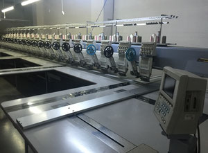 Barudan BEVS-Z920 One head / multi-heads embroidery machine