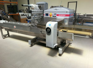 Record SCORPION Cheese production, wrapping and portioning machine