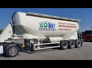 Baryval Cement trailer