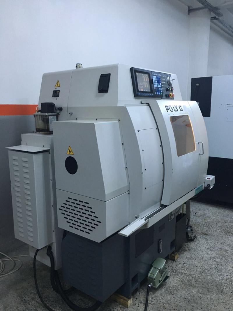 Tornio cnc polygim mini 88 macchinari usati exapro for Mini tornio cnc